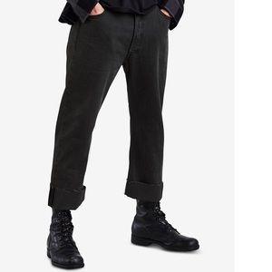 Levi's Mens Original Custom Crop Pleat Jeans 36&38